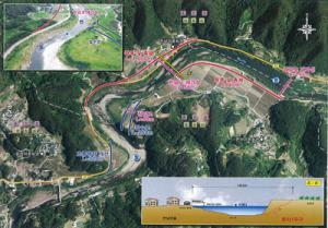 함양 한남마을 임천 구간 정비사업 추진