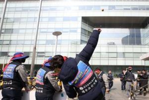 대우조선 매각 반대 불법 투쟁 노조지회장 집유