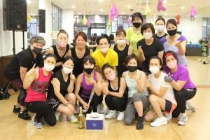 양산 물금 에어로빅팀, 트롯댄스대회 `우승` 차지
